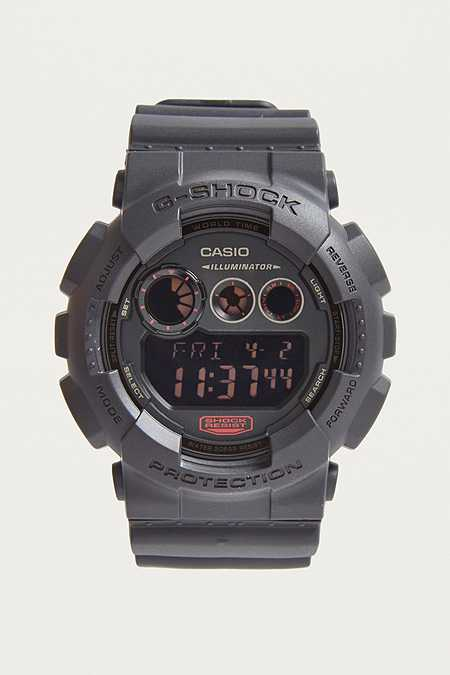 G-Shock - Montre GD120MB-1 Illuminator noire