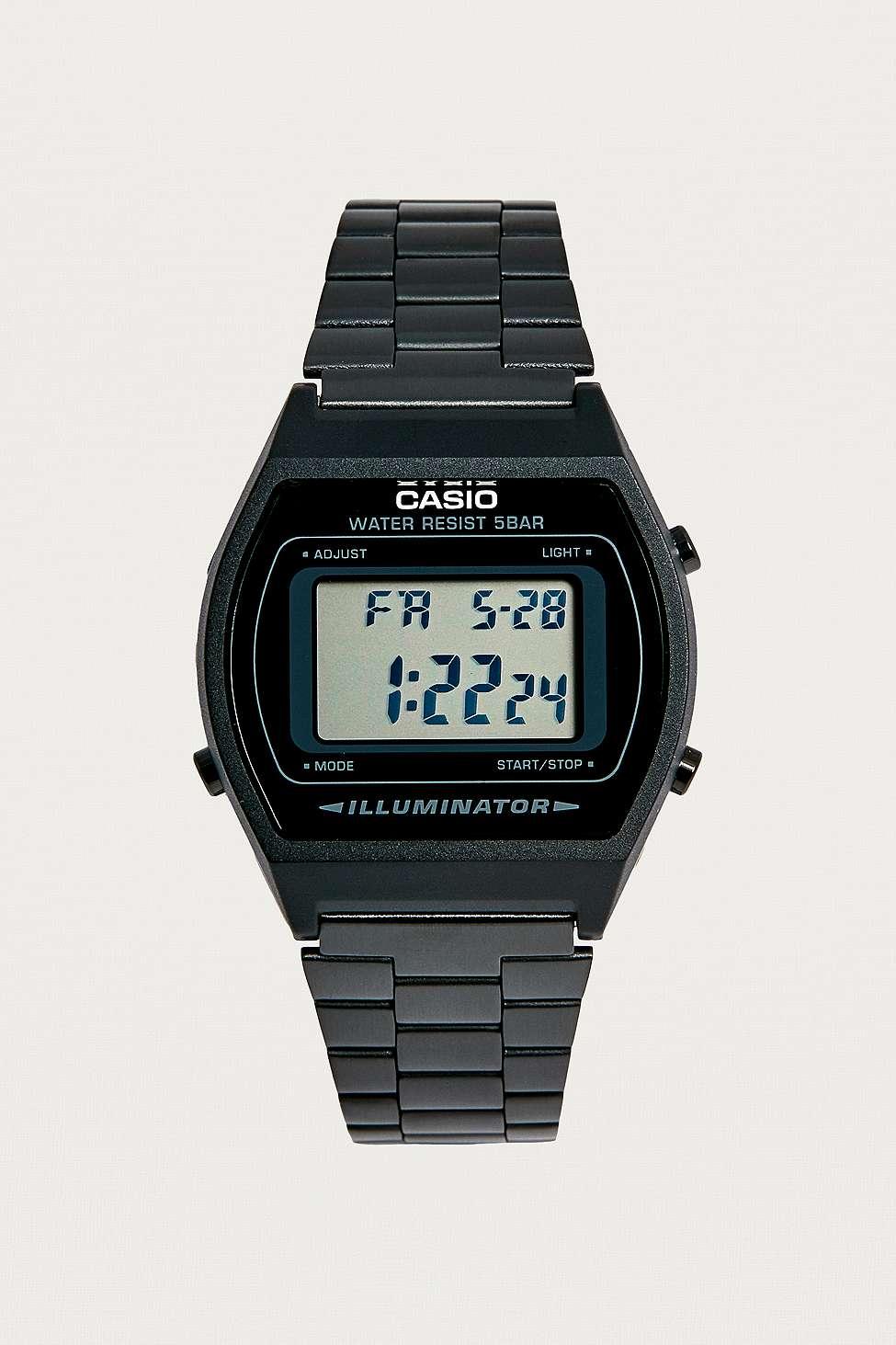 Urban Outfitters Casio – Montre Illuminator noire