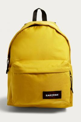 eastpak-padded-pak r-exotic-yellow-backpack by eastpak