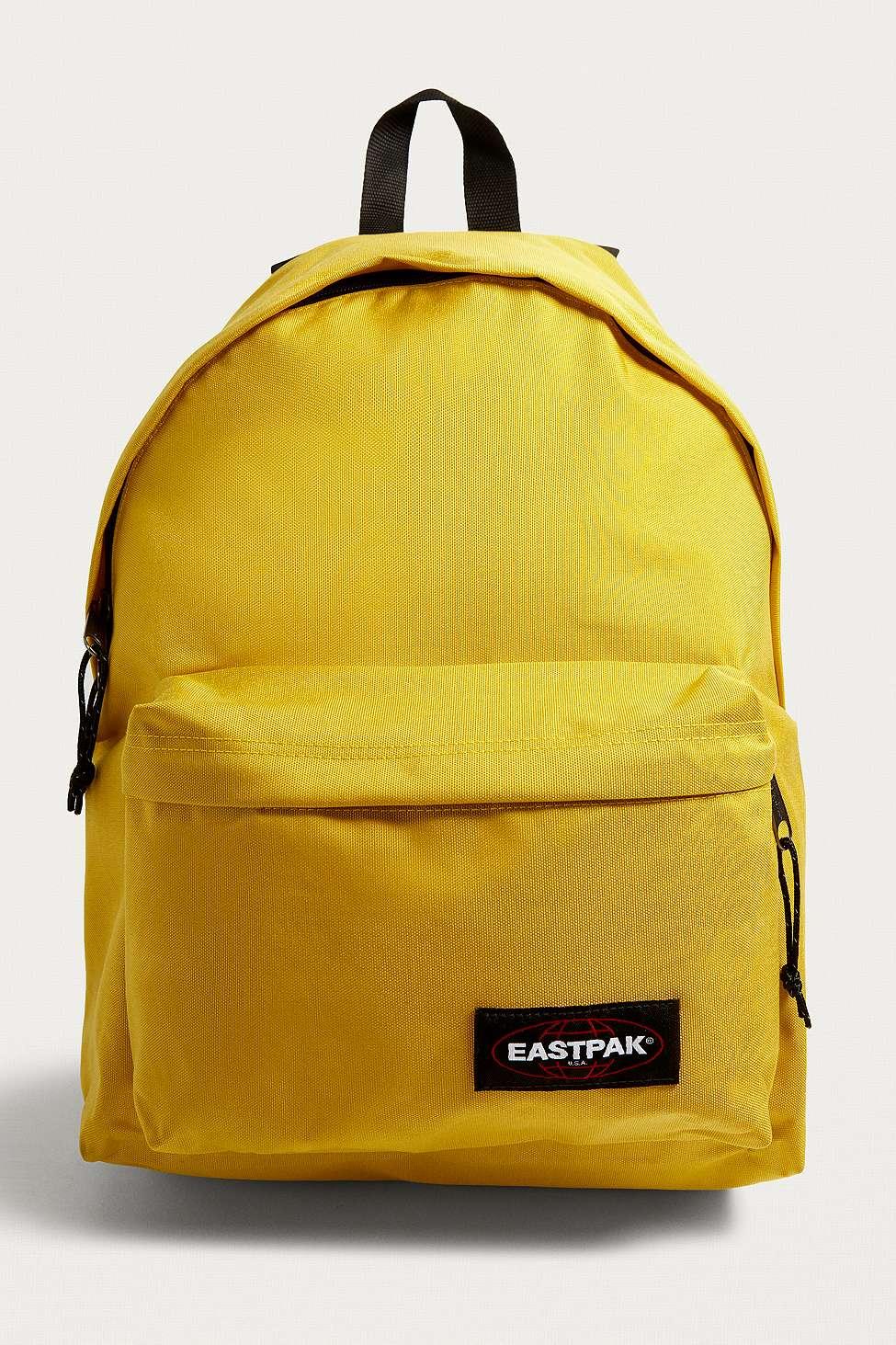 Sacs Eastpak Padded Pak'R jaunes 24L D1WG4z
