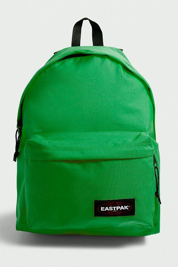 Eastpak Padded Pak R Parrot Green Backpack  63e30d4eb6d85
