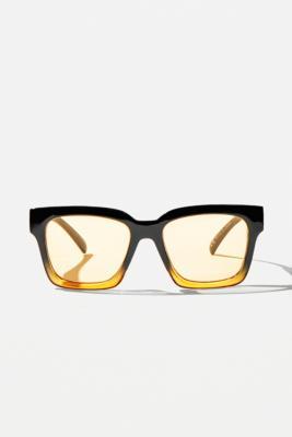 UO - Lunettes de soleil McCarthy brillant - Urban Outfitters - Modalova