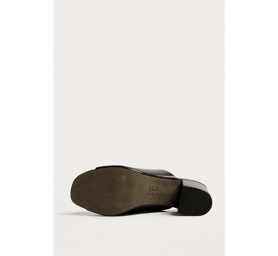 Slide View: 5: E8 by Miista Mason Ring Black Ankle Strap Mules