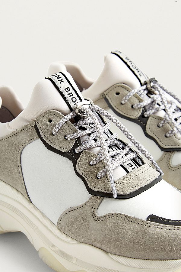 Chaussures À Semelles Blanches Bronx Épais evorSyHQXW