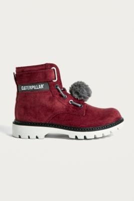 Cat Footwear Conversion Velvet Boots by Cat Footwear