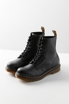 Dr Martens - Dr. Martens Pascal 8-Eye Black Boots, Black