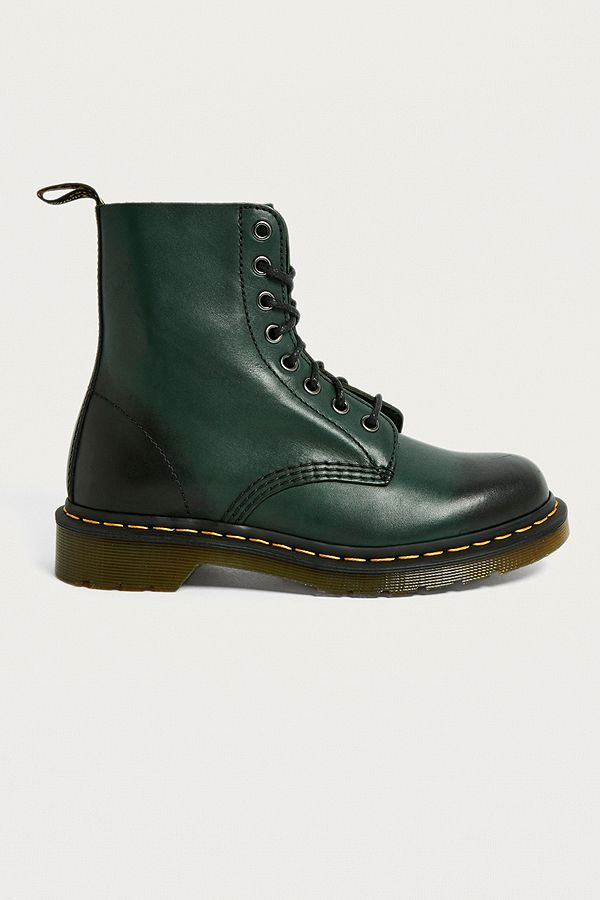 Dr. Martens 1460 Pascal Green 8-Eyelet Leather Boots  d4127443ef5c
