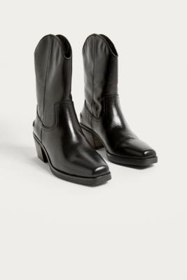 f6cf2d0f4ef Shoptagr   Vagabond Simone Black Leather Cowboy Boots by Vagabond