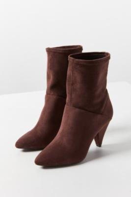 Urban Outfitters - Short Scrunch Boots, brown