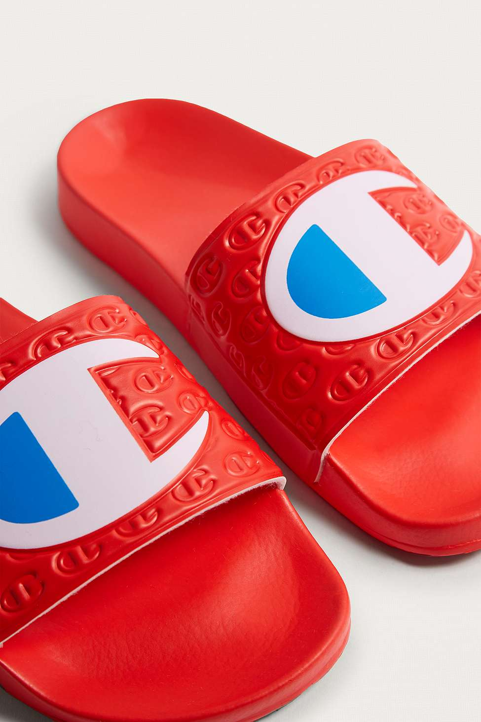 Slide View: 3: Champion Red Pool Sliders