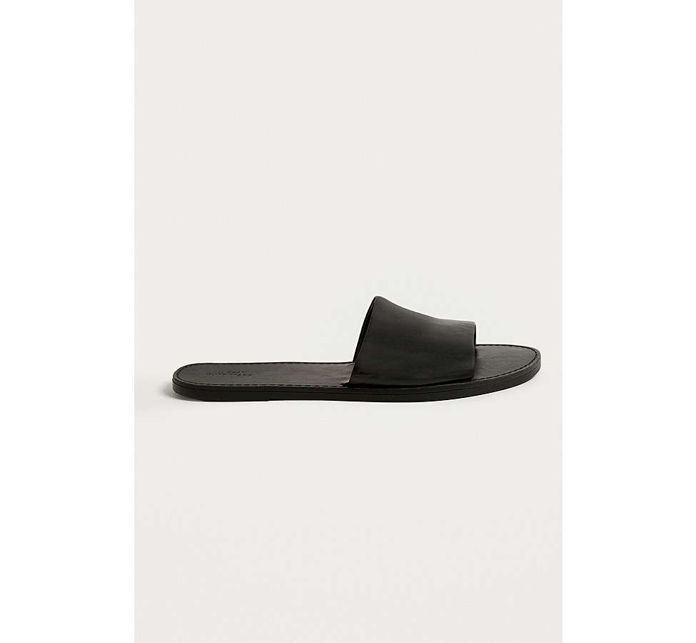 Slide View: 1: UO Mia Leather Sliders