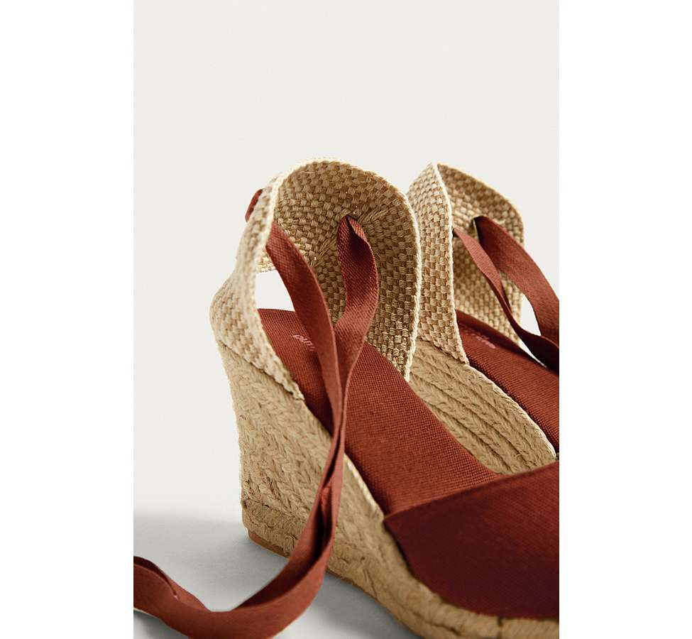 Slide View: 3: UO Erin Espadrille Wedge Sandals