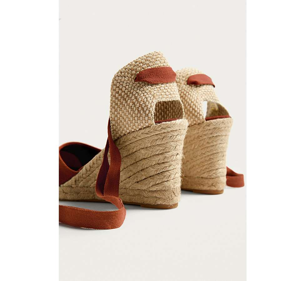 Slide View: 4: UO Erin Espadrille Wedge Sandals