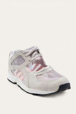 Adidas Originals - adidas Originals EQT Racing 91 Grey and Pink Trainers, Grey