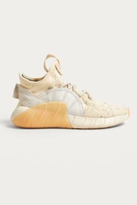 Adidas Originals - adidas Originals Tubular Rise Knit Trainers, Cream