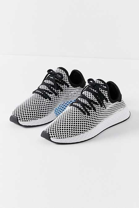 adidas Originals Deerupt Black and White Running Trainers