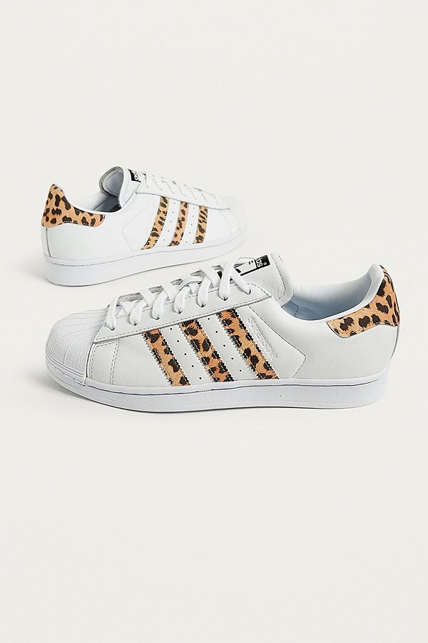 adidas Originals Leopard Superstar Trainers  7c8b784272e1
