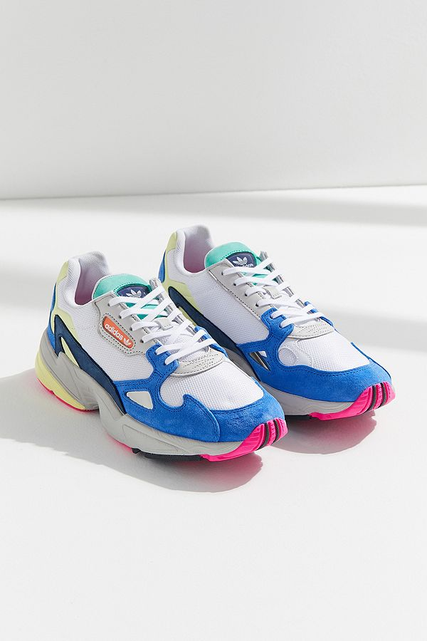 Adidas Originals Falcon White Trainers Urban Outfitters Uk