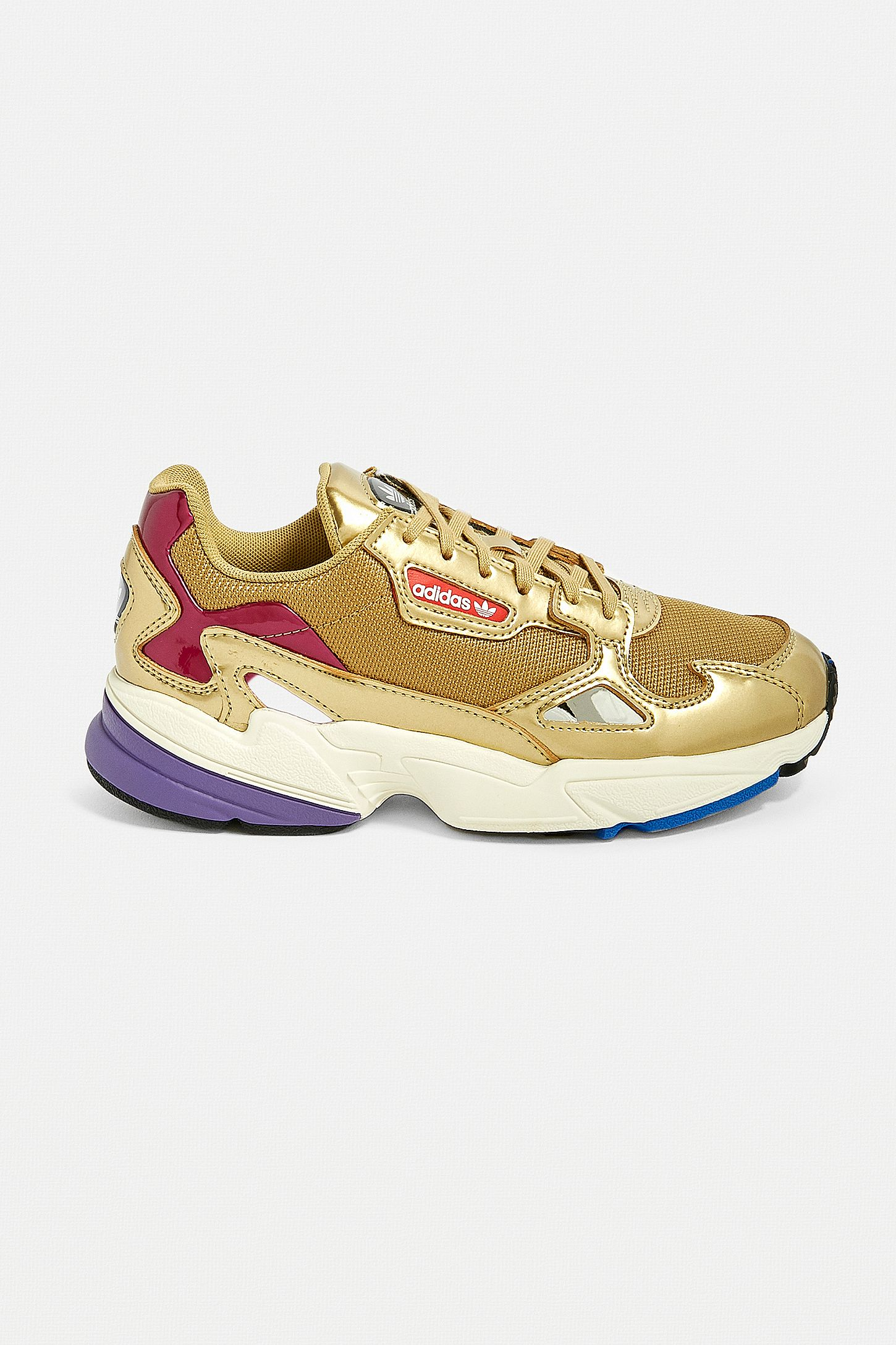 Adidas Originals Sneaker Falcon In Gold Urban Outfitters De
