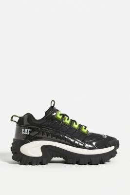 CAT Footwear Intruder Gel Trainers - Black UK 3 at Urban Outfitters