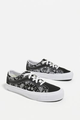 Vans Paisley Bold NI Trainers - Black UK 5 at Urban Outfitters