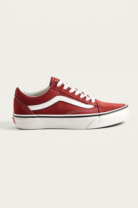 Black Multi. Online Only. Vans Old Skool Burgundy Trainers