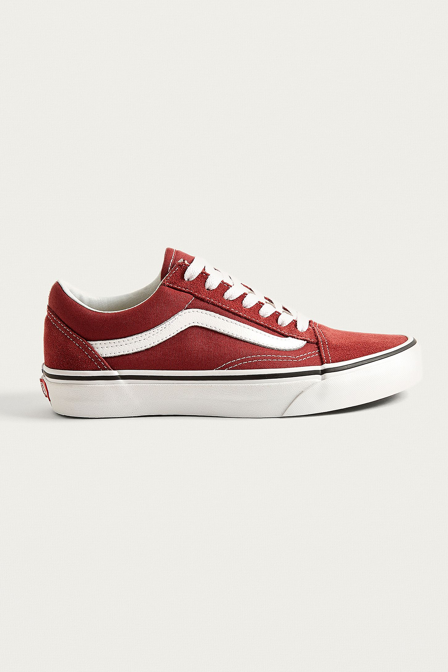 Vans Old Skool Burgundy Trainers  f545fd6bd
