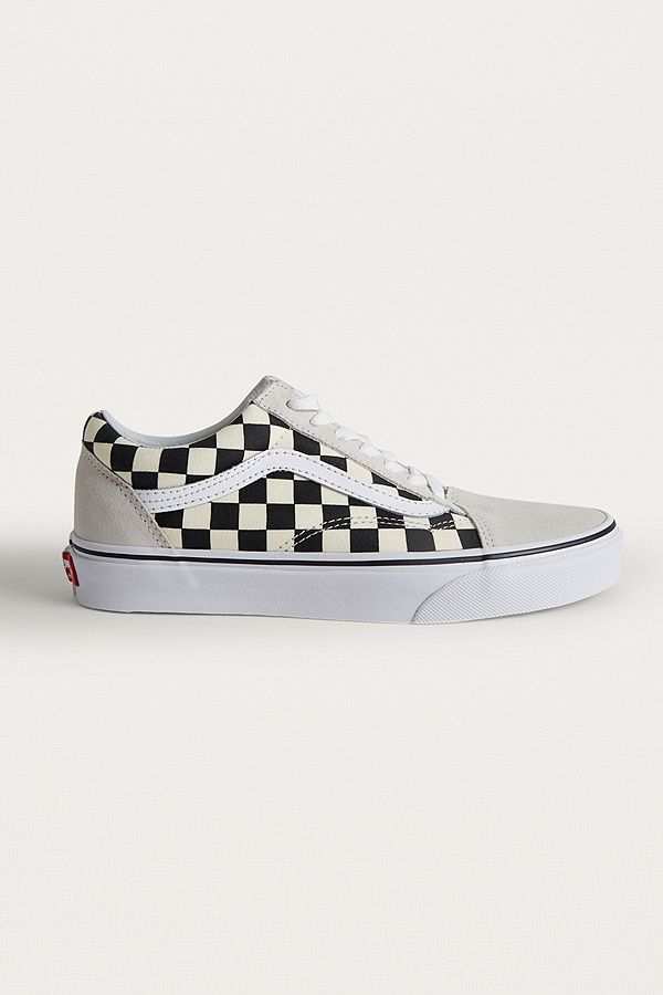 vans old school damier
