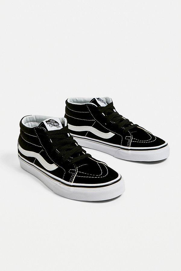vans noires