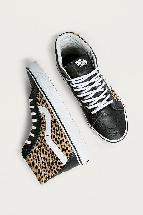 vans léopard
