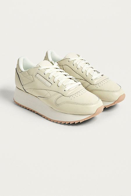 85a183c08ff Reebok Classic Leather Double Trainers. Quick Shop