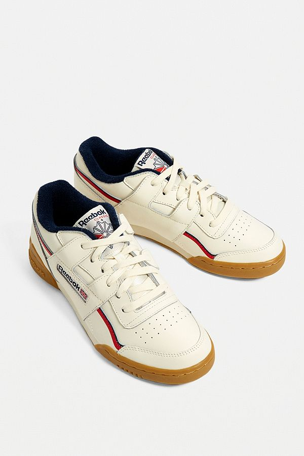 1c422cc6f1e19 Reebok Workout Plus Trainers In Cream - Reebok Of Ceside.Co