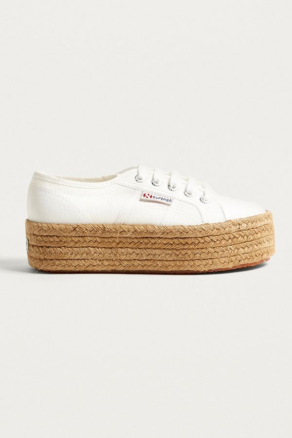 Cotropew Uk White Urban Trainers Outfitters 2790 Flatform Superga 5Pfw0
