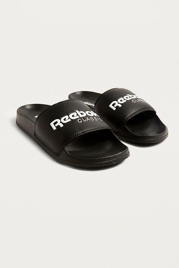 Reebok ORIGINAL SLIDE - Pool sliders - black/red/white rAl7rAeXIr