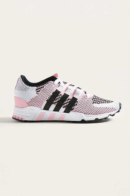 adidas - Baskets EQT Support ADV roses et blanches