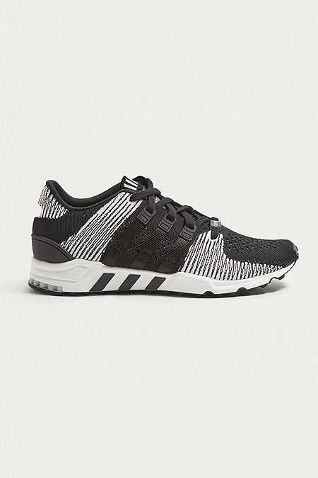 new arrival 34046 b5fc3 adidas EQT Support RF Black Primeknit Trainers. Quick Shop