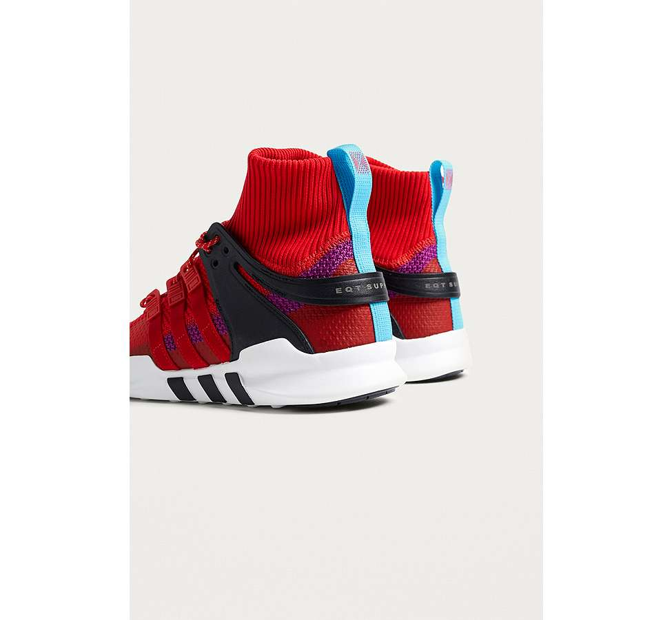 "Slide View: 4: adidas – Sneaker ""EQT Support RF ADV"" in Rot"