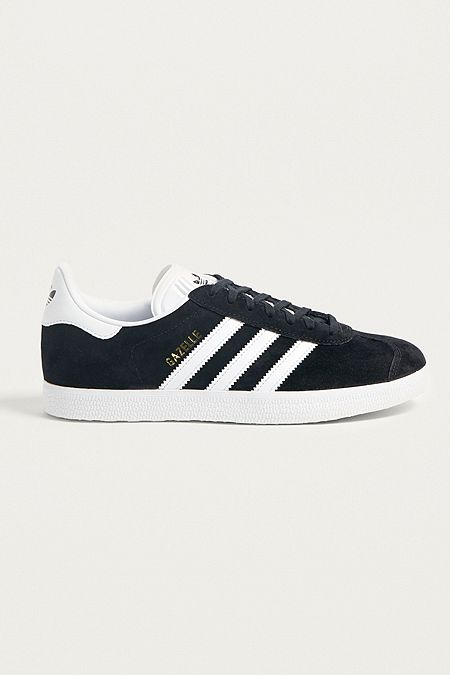 the latest 639a0 4c091 adidas Gazelle Black Trainers  Urban Outfitters UK