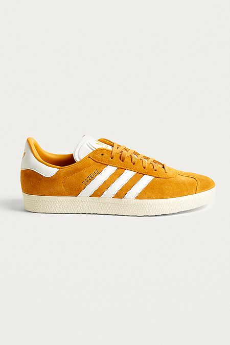 adidas Gazelle Gold Suede Trainers