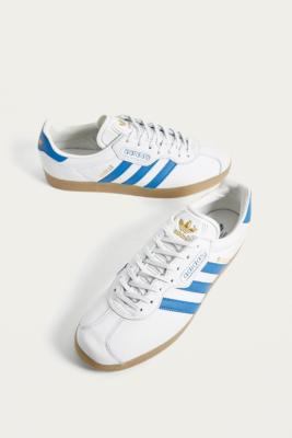 Adidas Gazelle White Trainers by Adidas