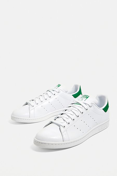 204a119e07950 adidas - Baskets Stan Smith blanches et vertes · Achat Express