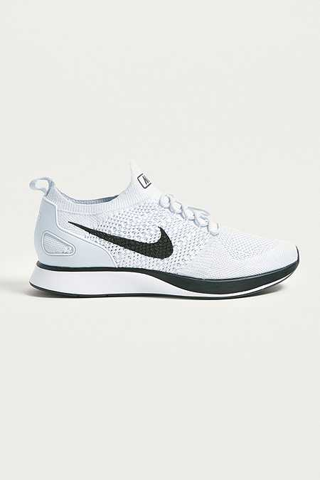 Nike - Baskets Air Zoom Mariah Flyknit blanches