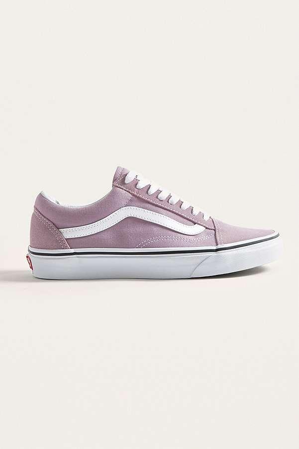 Vans Old Skool Purple Trainers  e8d1f731df3