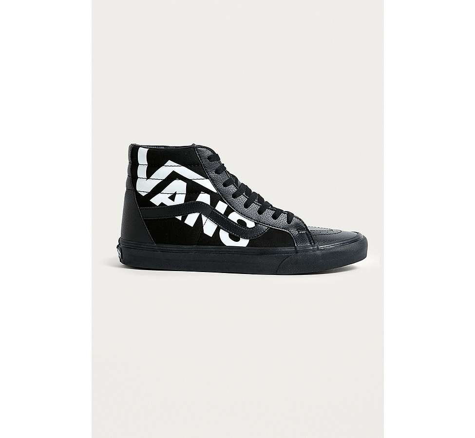 Slide View: 1: Vans Sk8-Hi Reissue Logo Trainers