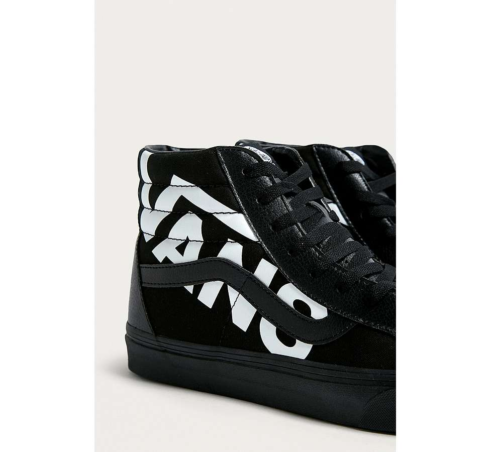 Slide View: 3: Vans Sk8-Hi Reissue Logo Trainers