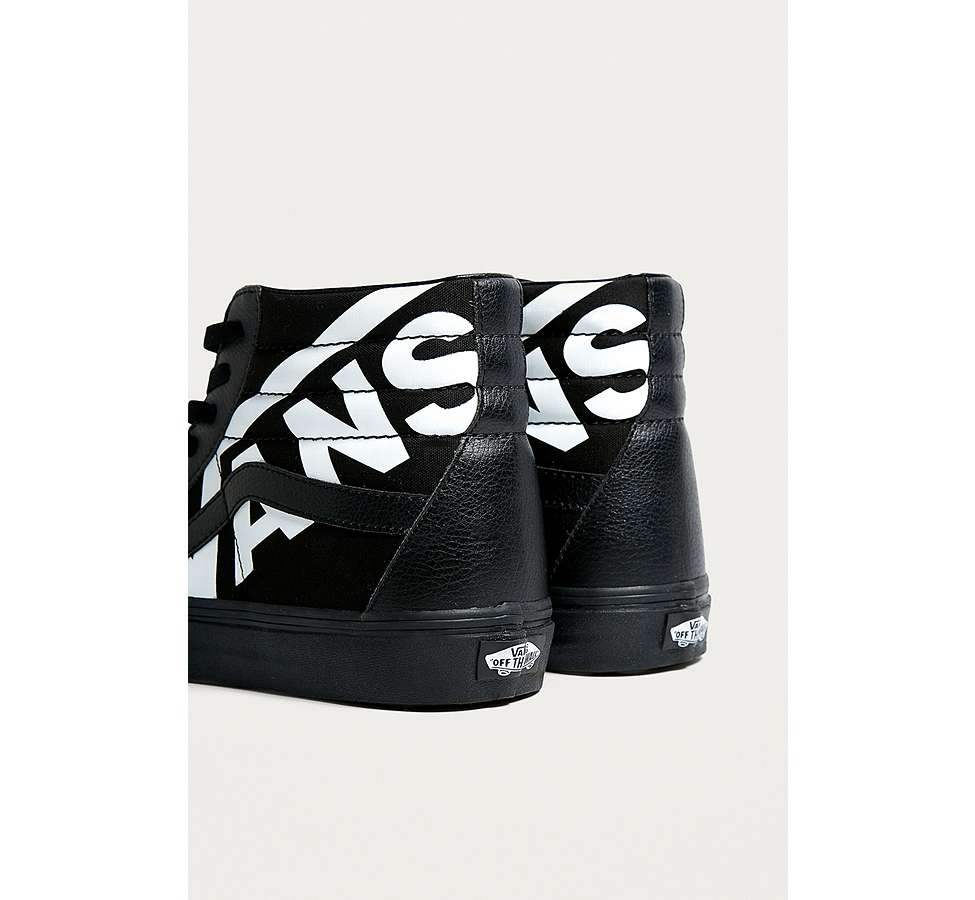 Slide View: 4: Vans Sk8-Hi Reissue Logo Trainers