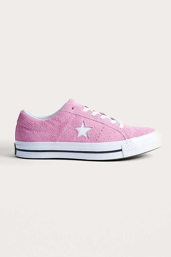 d46f7c2671ad96 ... official converse one star pink suede trainers 0b208 b5416