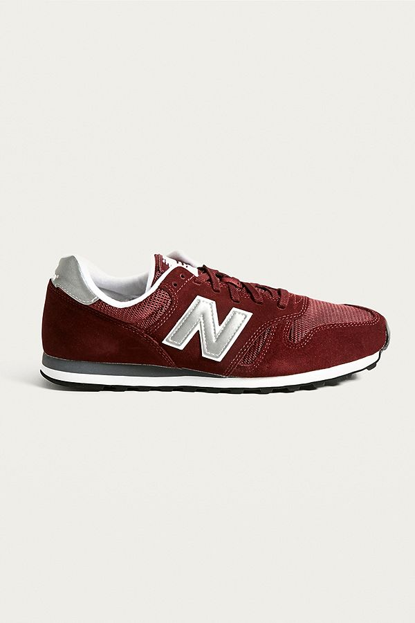 1bc3aa0d6a0eb ... coupon code for slide view 1 new balance 373 burgundy trainers f5ee5  73ac2