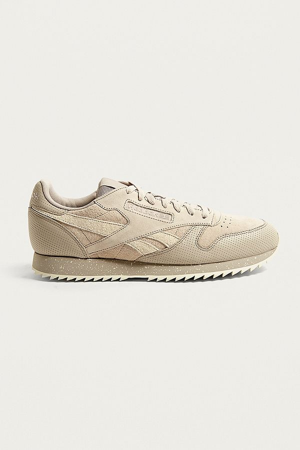 Reebok Classic Leather   Suede Trainers   Urban Outfitters UK e3e116560676