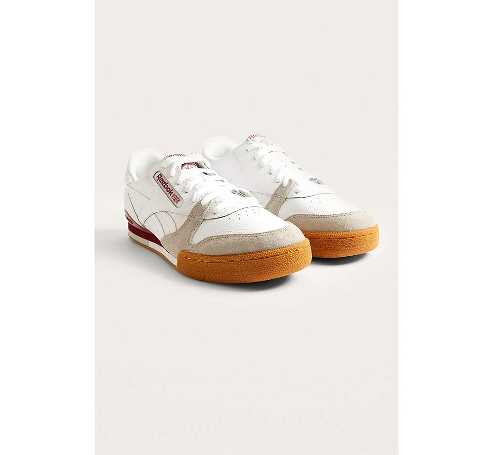 Slide View: 2: Reebok Phase 1 Pro CV White Trainers